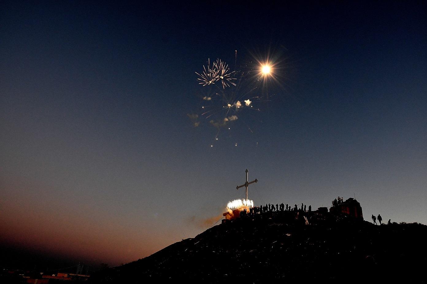 Feuerwerk_Irak
